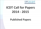 "Papers published for the ""ICDT Call for Papers 2014-2015"""